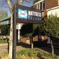 Sealy mattress signage
